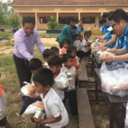 Korean Rotary Club Visits Kurata School
