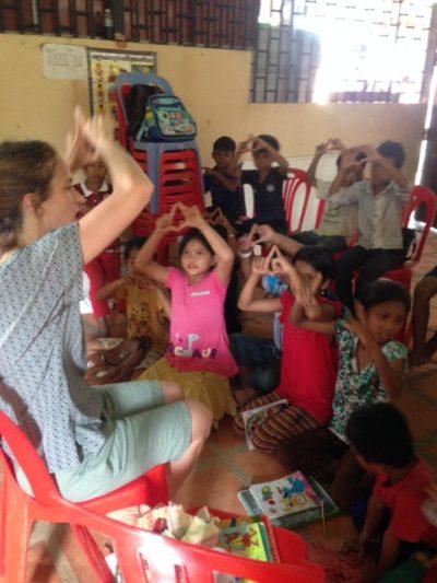 Sondra teaching