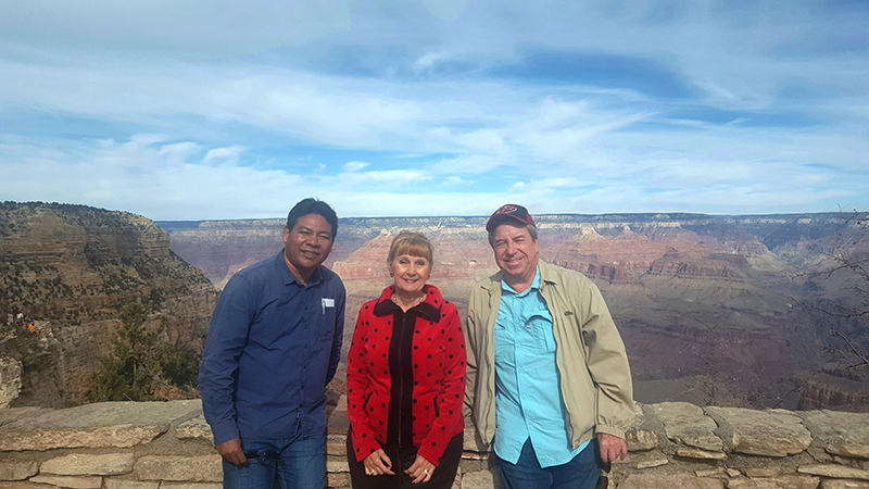 Sarin at the Grand Canyon
