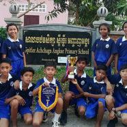 Spitler School Volleyball Team Wins City Tournament